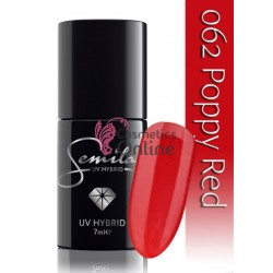 Oja UV Semilac 062 rosie Poppy Red 7 ml